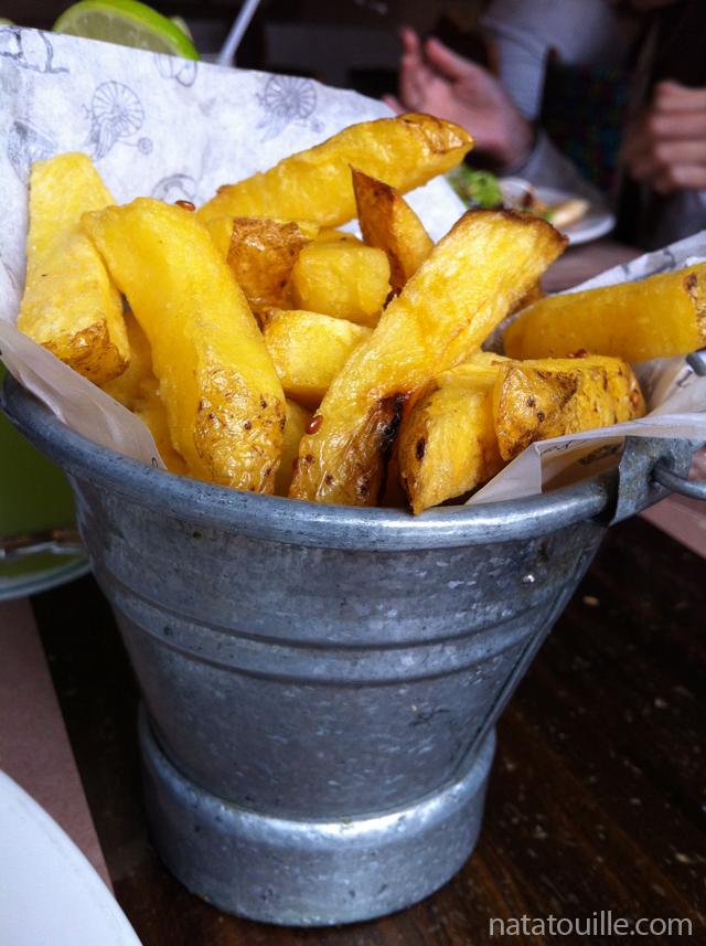 Papas fritas amarillas_La Folie