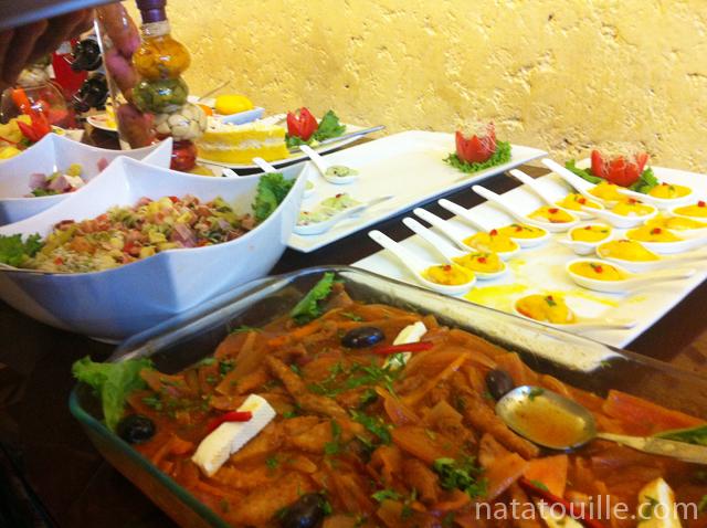 Buffet Aromas Peruanos