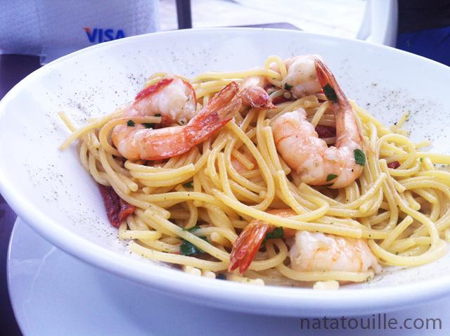 Spaguettis con Langostinos_Leyenda
