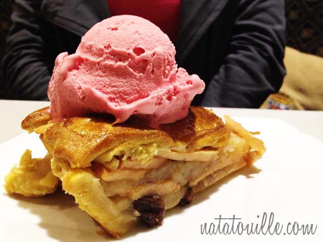 Pye Manzana con helado_Tajmanis