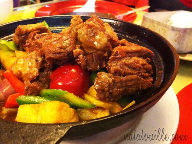 Tofu con Carne de Res Picante_Chifa Pekines Casa Sa Xien