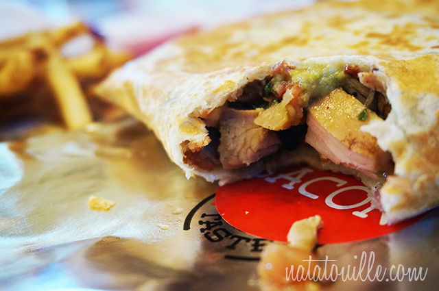 Chicken Bacon Burrito_El Pollo Loco