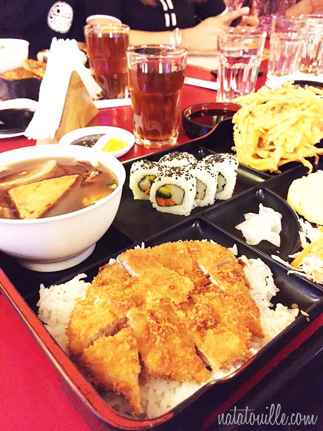 Combo Teishoku Tonkatsu_Don Katsu