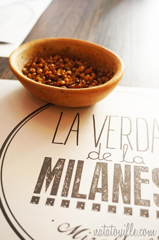 Quinua con aji_La Verdad de la Milanesa