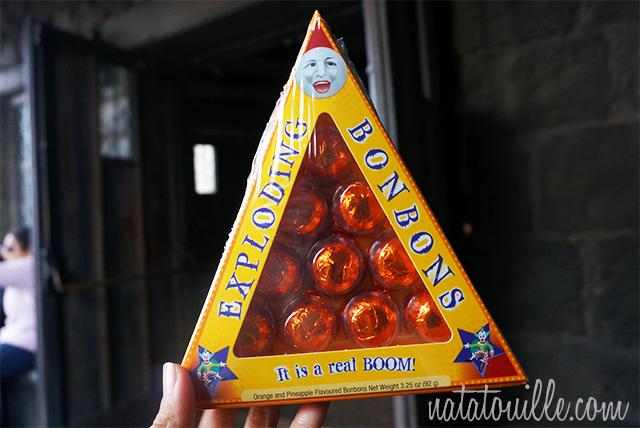 Explosive bonbons