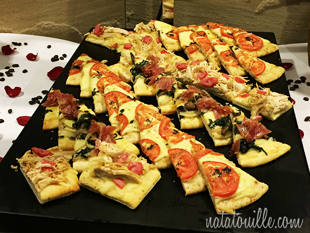 Pizzas varias_Delphos Bistro