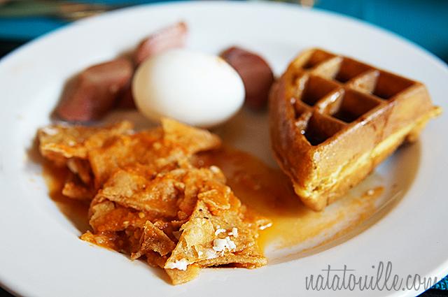 Chilaquiles en el desayuno_Decameron Los Cabos