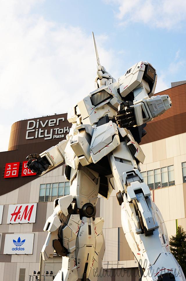 Gundam Unicorn_Odaiba