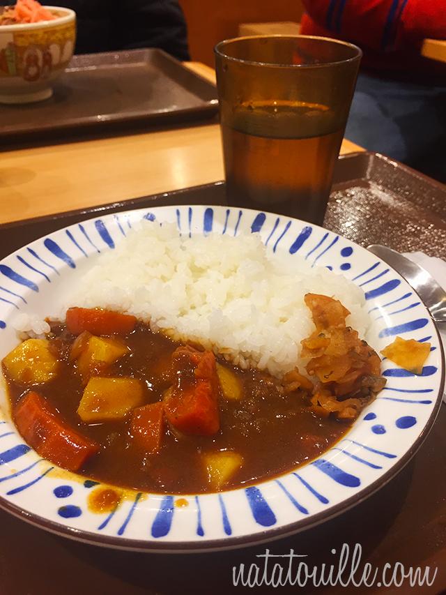 Curry en Sukiya