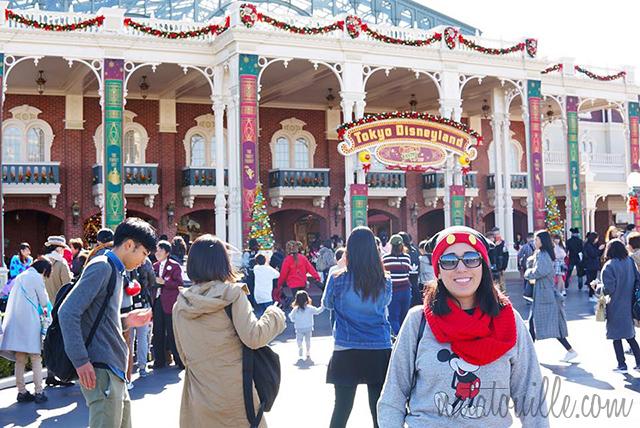 Entrando a Tokyo Disneyland