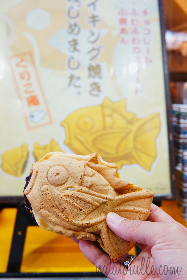 Taiyaki con forma de Magikarp