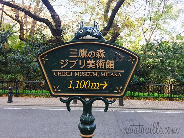 Camino al Museo Ghibli