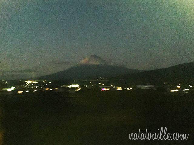 Monte Fuji desde Shinkansen