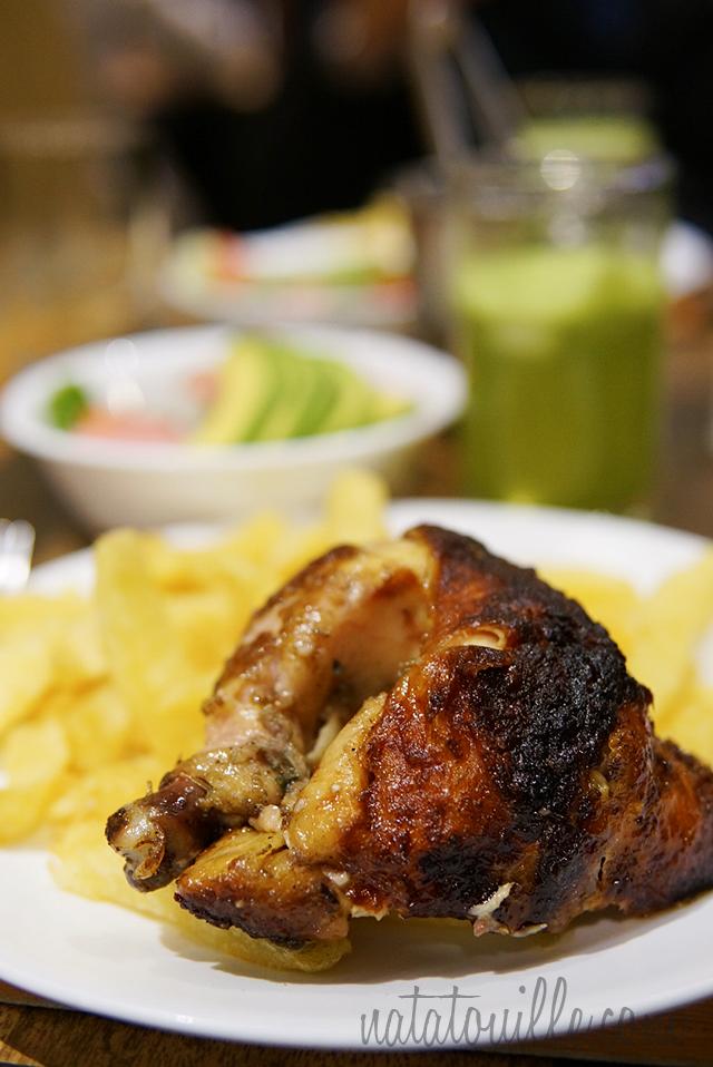 Pollo a la Brasa en Pollito Asado