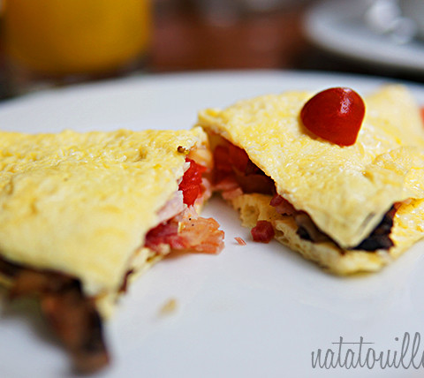 Omelette_Crowne Plaza Hotel