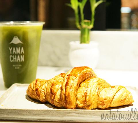 Maracumatcha y Croissant de Matcha_Yamachan